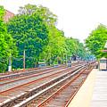Brooklyn Subway Train Station 2 by Jeelan Clark