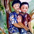 Brothers Bonding by Matthew Doronila