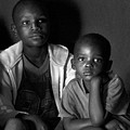 Brothers - Botswana by Marla Craven