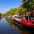 Brouwersgracht Canal In Amsterdam. Netherlands. Europe by Bernard Jaubert