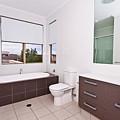 Brown And White Bathroom by Darren Burton