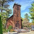 Brown Church Autumn 2 by Bonfire Photography