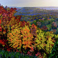 Brown County Autumn by Stan Hamilton