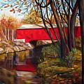 Brown County Bridge by Dorothy Riley