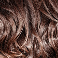 Brown Curly Hair Background by Anna Om