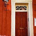 Brown Door by Donna Bentley