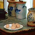 Brown Eggs And Ginger Jars by Susan Savad