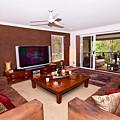 Brown Living Room by Darren Burton