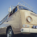 Brown Vw T2 Camper Van by Richard Nixon