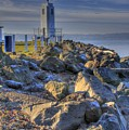 Browns Point Lighthouse by David Patterson