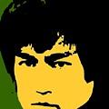 Bruce Lee Pop by Paul Van Scott