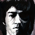 Bruce Lee Portrait by Alban Dizdari