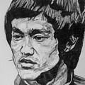 Bruce Lee by Rachel Natalie Rawlins