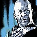 Bruce Willis by Galeria Trompiz