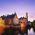 Bruges At Dusk by Barry O Carroll