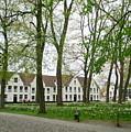 Bruges Begijnhof 1 by Randall Weidner