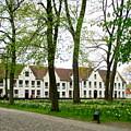 Bruges Begijnhof 2 by Randall Weidner