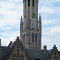 Bruges Belfry 7 by Randall Weidner