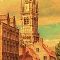 Bruges Belgium Belfry - Dwp2611371 by Dean Wittle