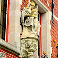 Bruges Detail 1 by Randall Weidner