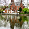 Bruges Kasteel Minnewater by Randall Weidner
