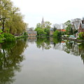 Bruges Minnewater 2 by Randall Weidner