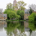 Bruges Minnewater 3 by Randall Weidner
