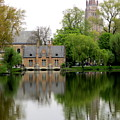 Bruges Minnewater 5 by Randall Weidner