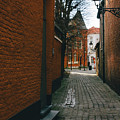 Bruges Orange Street by Pati Photography