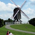 Bruges Windmill by David L Griffin