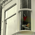Bruges Window 10 by Randall Weidner