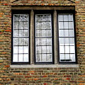 Bruges Window 3 by Randall Weidner