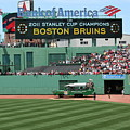 Bruins At Fenway by Stephen Melcher