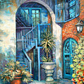 Brulatour Courtyard by Dianne Parks