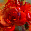 Brushed Flowers by Anne  Alfaro