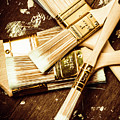 Brushes Of Interior Decoration by Jorgo Photography - Wall Art Gallery