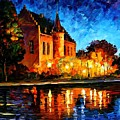 Brussels - Castle Saventem by Leonid Afremov