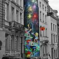Brussels Fireworks by Jost Houk