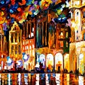 Brussels  by Leonid Afremov