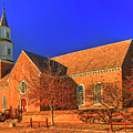 Bruton Parish Church In The Warm Autumn Afternoon Sunlight 6477tmt by Doug Berry