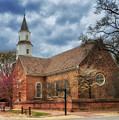 Bruton Parish Church by Lois Bryan