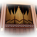 Bryan Concert Organ In Jacoby Symphony Hall by Ola Allen