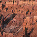 Bryce Canyon At The Golden Hour by Stan and Anne Foster