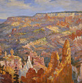 Bryce Canyon by Lewis A Ramsey