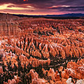 Bryce Canyon Sunset by Nolan Nitschke