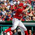 Bryce Harper Washington Nationals by Marvin Blaine