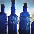 B's Blue Bottles by Joe Arsenian