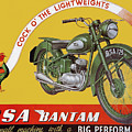 Bsa Bantam Motorcycle by Roger Smith