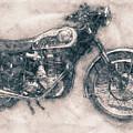 Bsa Gold Star - 1938 - Motorcycle Poster - Automotive Art by Studio Grafiikka