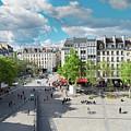 Georges Pompidou Square by Anastasy Yarmolovich
